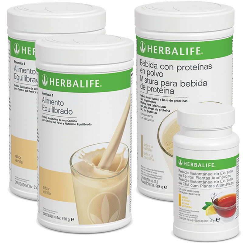 Objetivo Bienestar Herbalife Combo 2