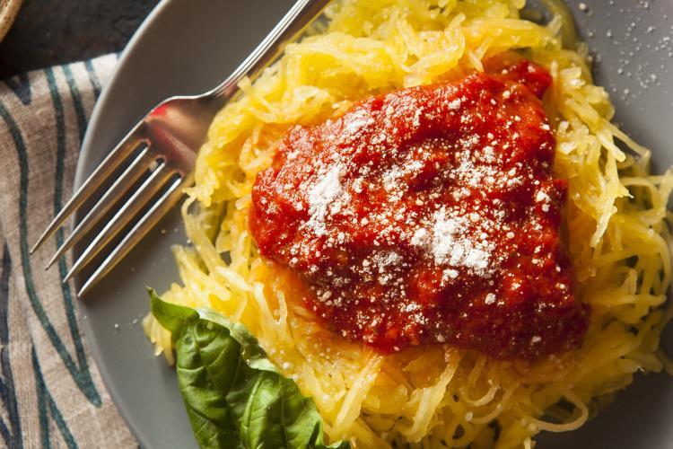 estilos de vida saludables spaghetti squash
